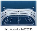 football   soccer stadium | Shutterstock .eps vector #94775749