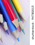 note and pencils | Shutterstock . vector #94780015