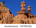 Unique Rock Formation Of Red...