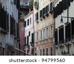 venice   peaceful and charming... | Shutterstock . vector #94799560