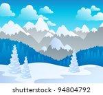 Mountain Theme Landscape 4  ...