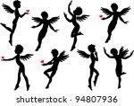 cupids | Shutterstock .eps vector #94807936