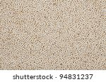 Healthy amaranth grain, a staple food of the Aztecs and becoming popular as a health food.  Presented full frame as a texture or background. - stock photo