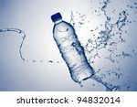 bottled water with a splash | Shutterstock . vector #94832014