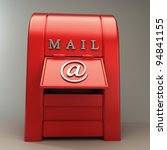 Postbox  High Resolution 3d