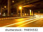 lights on at night. in the city ... | Shutterstock . vector #94854532