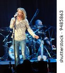 Small photo of Bucky Covington opened up for Dierks Bentley and is seen here performing live onstage on 2/14/08 at the University of Florida's Stephen C. O'Connell Center in Gainesville.