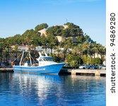 denia mediterranean port... | Shutterstock . vector #94869280