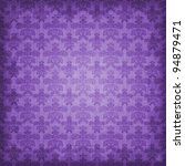 shaded purple damask background | Shutterstock . vector #94879471