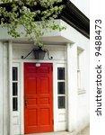 white brownstone in brooklyn...   Shutterstock . vector #9488473