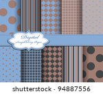 set of vector paper for... | Shutterstock .eps vector #94887556