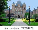 Toronto Legislative Building in Ontario, Canada - stock photo