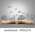 book of fantasy stories | Shutterstock . vector #94921276