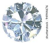 round  old european diamond cut ... | Shutterstock . vector #94944676