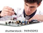 computer engineer  isolated... | Shutterstock . vector #94945093