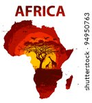 africa | Shutterstock .eps vector #94950763