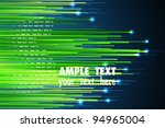 illustration of stripe on abstract background - stock vector