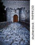 Gate Of Simancas Castle ...