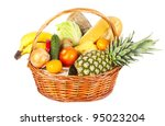 many fruits and vegetables and... | Shutterstock . vector #95023204