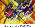 abstract composition | Shutterstock . vector #95023756