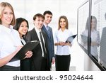 business people is working... | Shutterstock . vector #95024644