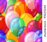 Balloons Seamless Pattern...