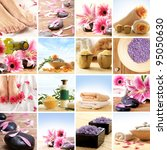 spa collage | Shutterstock . vector #95050630