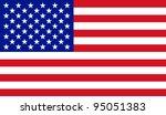 raster illustration of the usa... | Shutterstock . vector #95051383