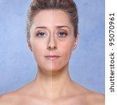 beauty of a woman  photo... | Shutterstock . vector #95070961