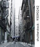historic city street | Shutterstock . vector #95090242
