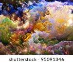 Rendering Of Colorful Fractal...