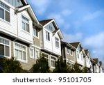 modern homes. real estate ... | Shutterstock . vector #95101705