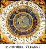 renaissance astronomical clock...