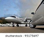 luxury transportation | Shutterstock . vector #95175697