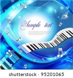 music background | Shutterstock .eps vector #95201065