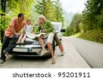 travel   family with camping...   Shutterstock . vector #95201911