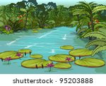 amazon river | Shutterstock . vector #95203888