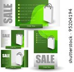 modern web banners for web sale ... | Shutterstock .eps vector #95204194