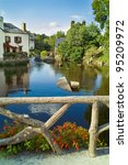 city of pont aven in brittany | Shutterstock . vector #95209972