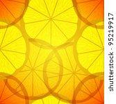 yellow lemons a seamless... | Shutterstock .eps vector #95219917