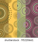 background colored with circles | Shutterstock .eps vector #95220661