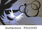 wing background  poster  web ... | Shutterstock . vector #95222335
