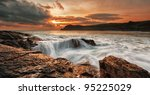 Coastline Of Prawle Point ...