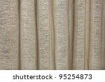 Curtain thread - stock photo