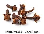 cloves against white background   Shutterstock . vector #95260105