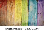 Colorful Wooden Rainbow...