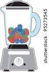 blender an image of a blender ... | Shutterstock .eps vector #95273545