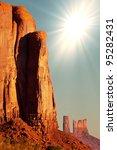 Monument Valley,Utah,USA - stock photo