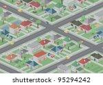 suburbia | Shutterstock .eps vector #95294242