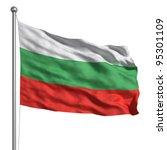 flag of bulgaria | Shutterstock . vector #95301109